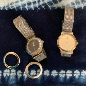 Skagen Minimalist Steel Mesh Watches